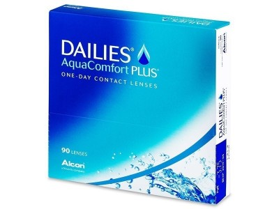 Dailies® AquaComfort PLUS - 90 leč
